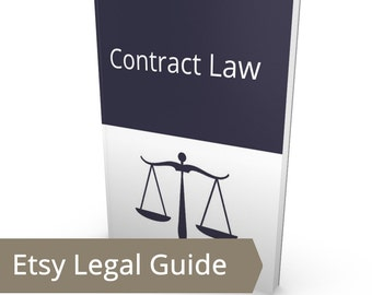 Contract Law for Etsy Sellers - Business Law, Legal Tips, Writing a Contract, Wholesale, Boutique Consignment Lawyer Attorney Small Business