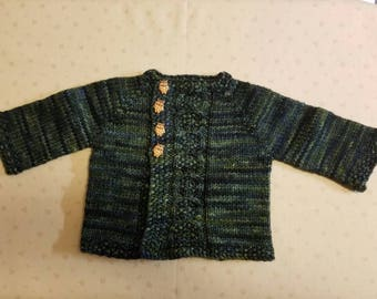 Owl Always Love You! Sweater (0-3 months)