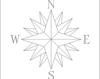 Your drawing compass engraving