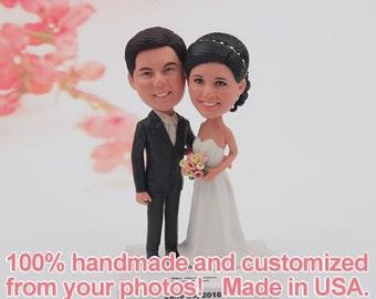 WEEDING CAKE TOPPER, Custom Weeding Cake Topper, Personalized Wedding Cake Topper, Bride and Groom Wedding Cake Topper, Mr and Mrs  Topper