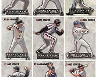 1993 Jimmy Dean Rookies 9 Card Set