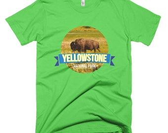 Yellowstone park 02 Short-Sleeve T-Shirt