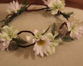 Daisy Floral Headcrown Halo