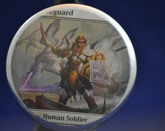 Elite Scaleguard (MtG Button)