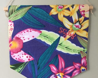 Harry Styles Tropical Wall Banner (large).