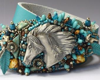 Indian Pony Wrap Bracelet