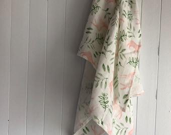 Special edition, muslin blanket, 28x35''