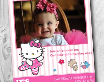 Printable hello kitty birthday invitation for all ages printable hello kitty birthday invitation for all ages personalized hello kitty birthday invitation custom filmwisefo Image collections