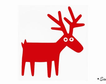 reindeer deer Elk childish Thermo flex
