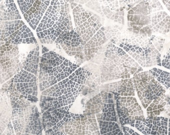 RJR Urban Garden Leslie Tucker Jenison Leaf Study Silver Sage Floral Fabric 3359-004 BTY 1 Yd