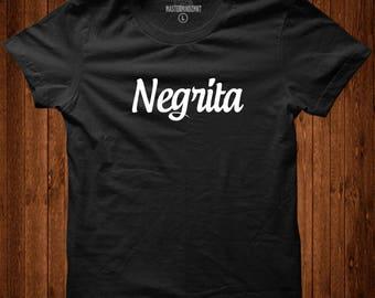 Negrita, Afro Latina Shirt, Afro Latina, Latina Shirts, Latina Feminist, Latina, Latina Top