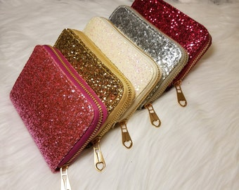 Glitter Wallets || Woman's Gift