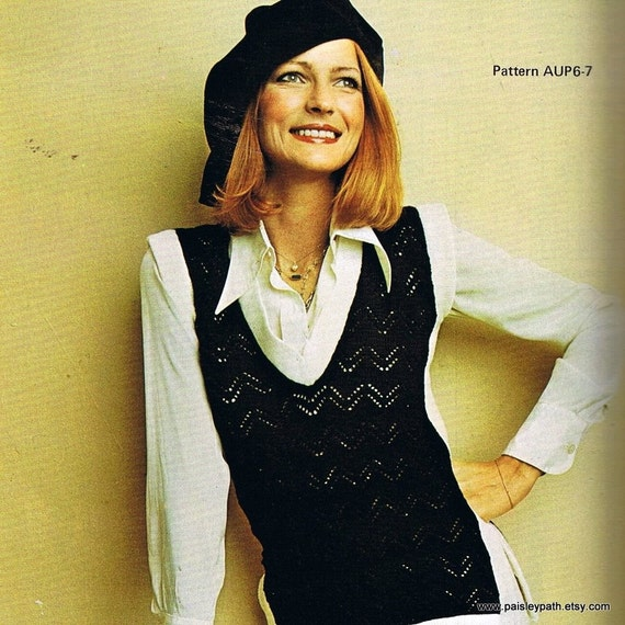 Vintage 70s Empisal Knitting Machine Patterns From Paisleypath On