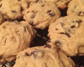 1 Dozen Chocolate Chip Peanut Butter Cookies