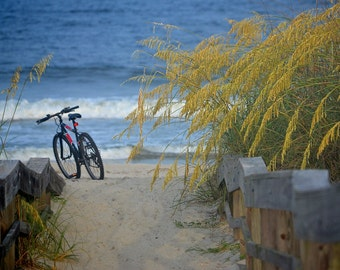 Nature Photography - As Summer Turns To Fall - Landscape, Seaside, Water, Beach, Ocean, Travel, Island, Fine Art Photography