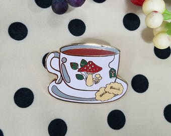 Tea Time Enamel Pin