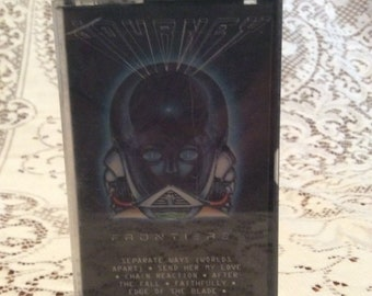 Vintage 1983 Cassette/Journey/ Good Condition/Used/Faithfully / Frontiers