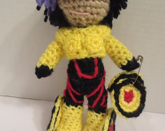 GoGo Tomago crochet doll Big Hero 6