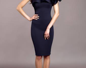 One Shoulder Party Dress