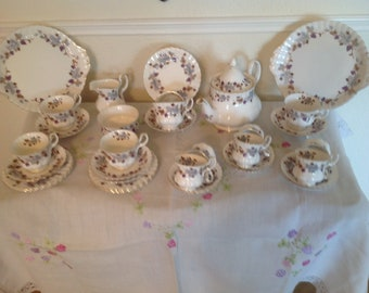 Royal Albert tea and part coffee set 35 piece