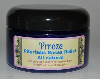 PRReze Pityriasis Rosea Relief cream 4 Ounce SHIPPED 6 DAYS A WEEK