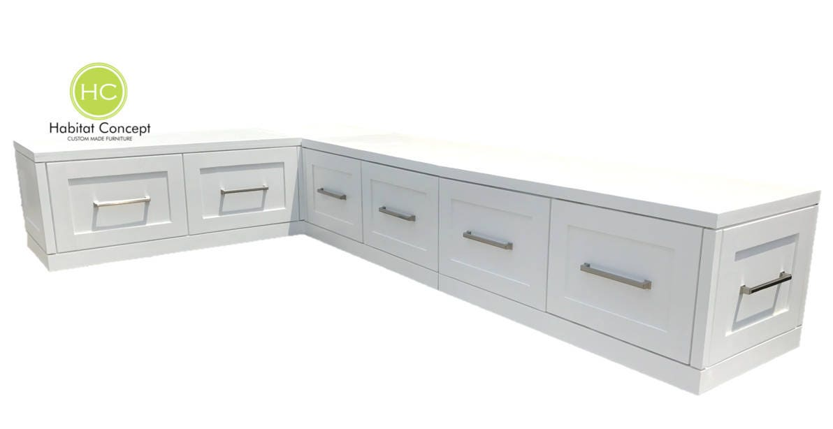 Banquette Corner Bench Kitchen Seating L Shaped Bench