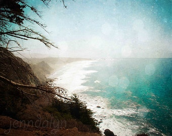 california wall art - big sur print - pacific coast highway 1 - california photography