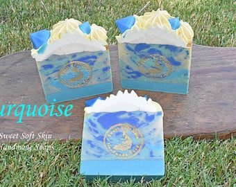 Turquoise  Soap Bars