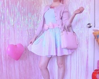 Melty Sweets Skirt Pastel Skirt, Fairy Kei Skirt, Kawaii Skirt,