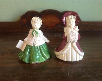 Ceramic singers pair