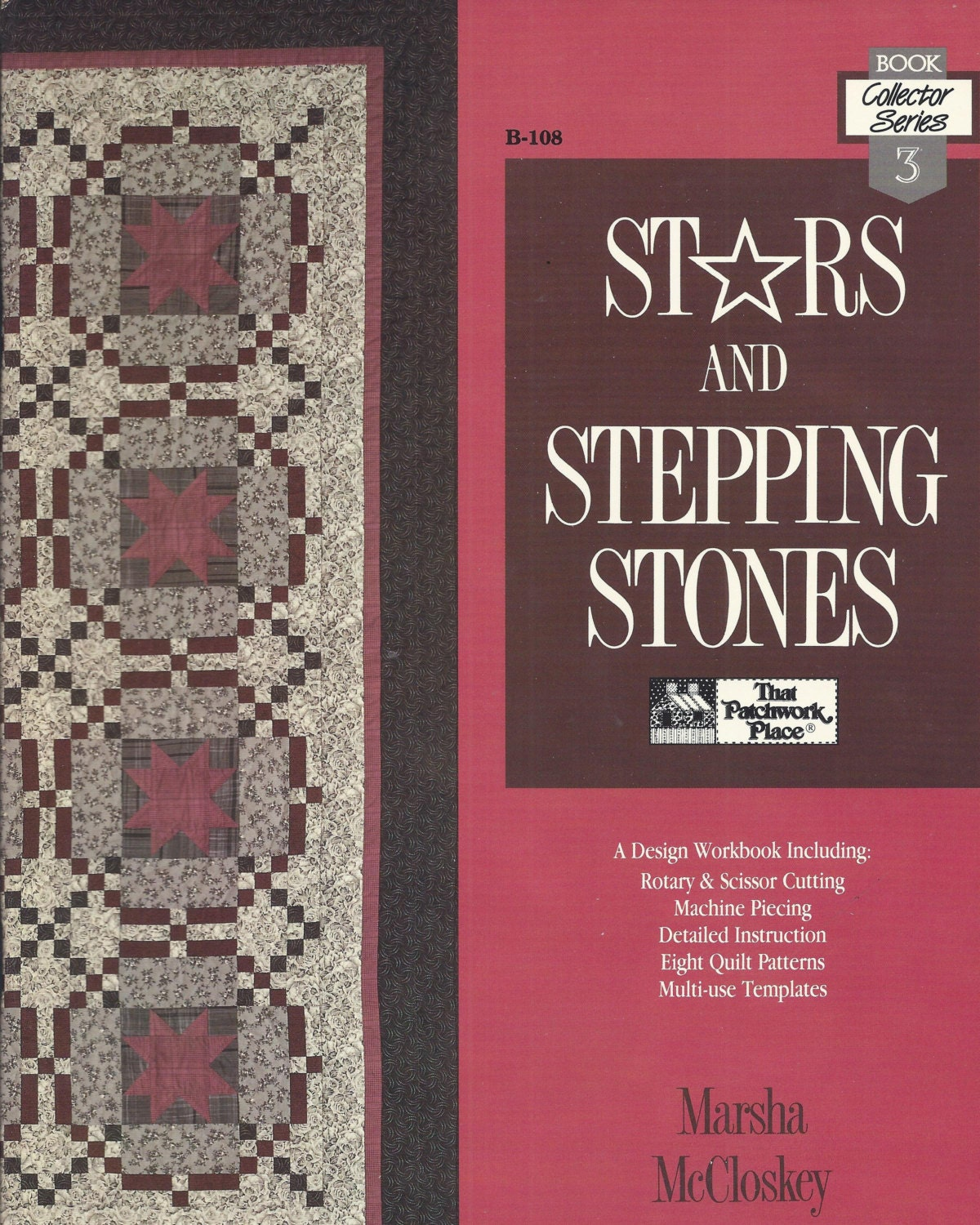 Vintage Stars And Stepping Stones Quilting Design Workbook
