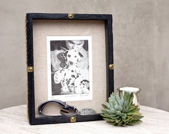 Add Pet's Ashes to a Custom Pet Etching - Create a special artwork remembrance of your animal companion!