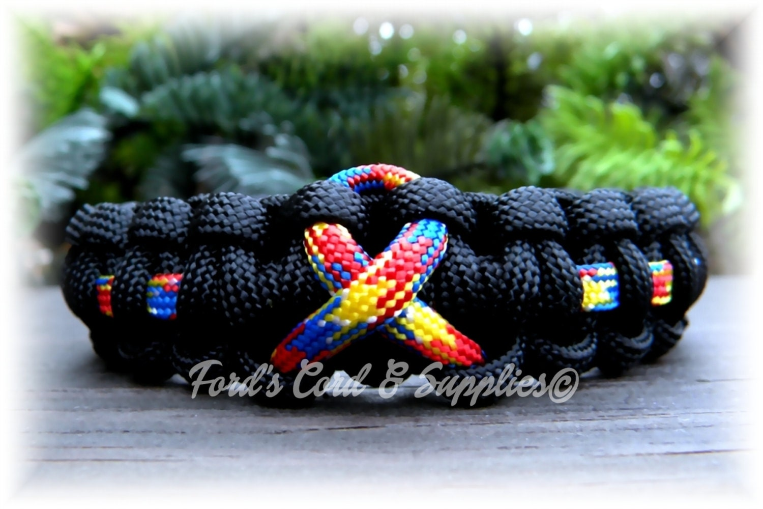 my gem autism lil products single awareness bracelet
