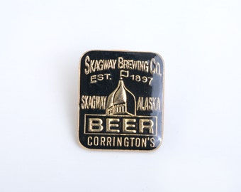 Beer, beer pin, beer enamel pin, drinks lapel pin, beer brooch, advertising pin, hat pin,lapel pin,enamel pin,stocking stuffer,backpack pin