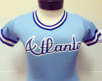 Vintage Atlanta 1980s Childs Jersey