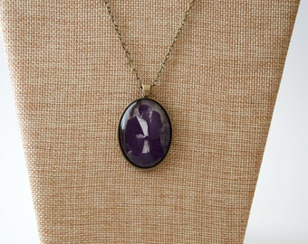 Personalized Photo Gift. Photo Necklace. Photo Pendant. Grandma or Mother's Gift.