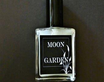 Moon Garden Perfume Oil Mist 1 oz.  Romantic Perfume, White Floral Perfume, Fantasy Perfume, Feminine Perfume, Perfume Gift, Jasmine Perfume