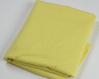 Cotton Polyester Mix Poplin - Yellow