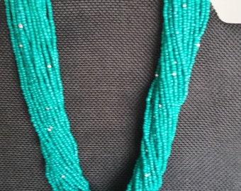 Multi Strand Turquoise Necklace