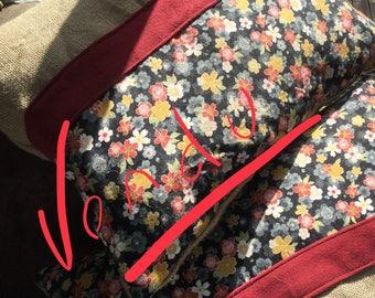 Hippie Chic floral cushion!