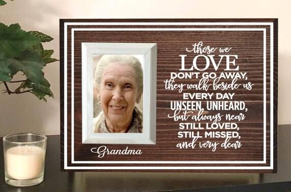 Grandma memorial picture frame memorial frame mother