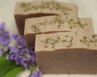 Lavender Soap ~ handcrafted soap ~ natural soap ~ shea butter soap