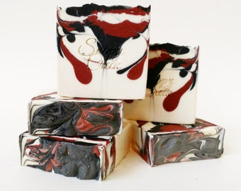 Black Cherry Doap, Homemade Soaps, Natural Soap, Handmade Soap, Handcrafted Soap, Cold Process Soap, Bar Soap, Soaps, Artisan Soap
