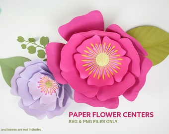 Flower Center SVG and PNG files