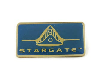 1994 Stargate Metal Pin Button (Movie, Applause Inc)