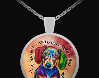 Dachshund R1 Necklace