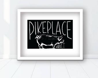 Pike Place Print