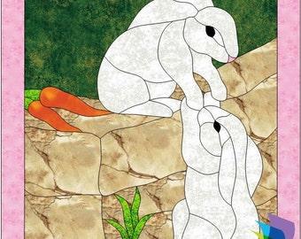 Bunny Love Applique