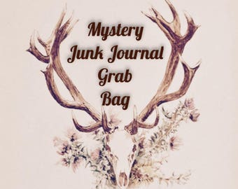 Small Junk Journal Mystery Inspiration Kit