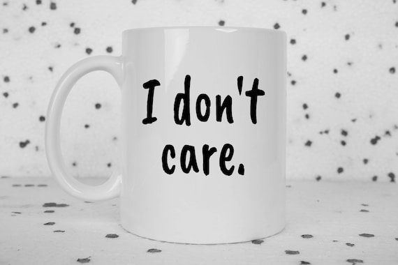 I don't care coffee myg